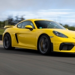 First Drive: Watch Out Porsche 911, the New 718 Cayman GT4 Wants to Pass